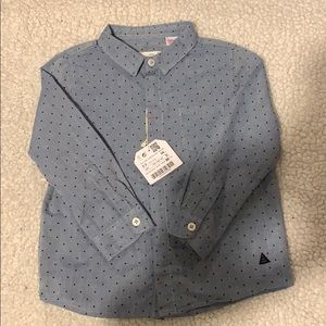 Zara Buttoned Down Dress Shirt- NEW WITH TAGS